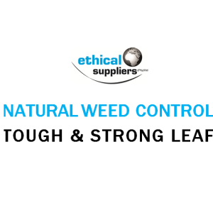 NATURAL WEED CONTROL TOUGH AND STRONG LEAF