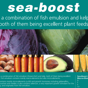 sea-boost-organic fertilizer